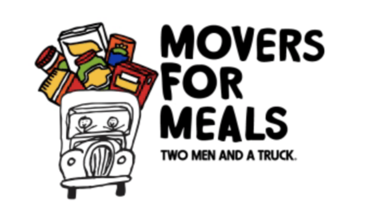 Movers for Meals collecting food items through November 10