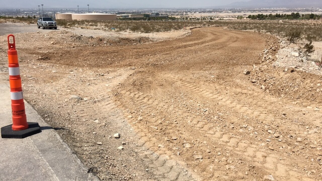 New east Las Vegas haul road met with opposition