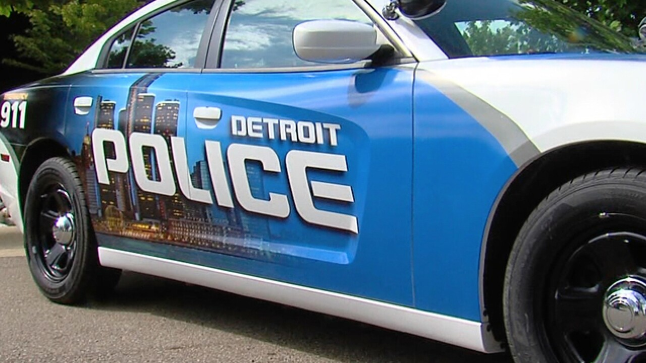 Two Detroit police officers hospitalized after crash on city's west side