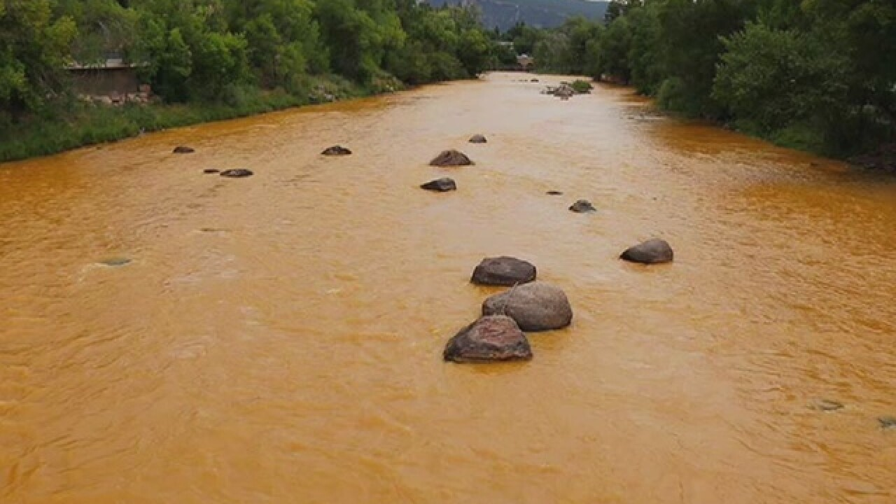 EPA: Metals get into creek near site of big mine waste spill
