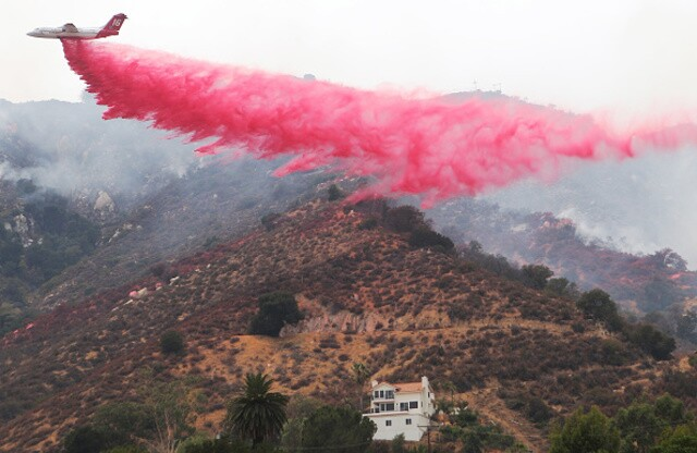 PHOTOS: Dramatic images show the Holy Fire battle
