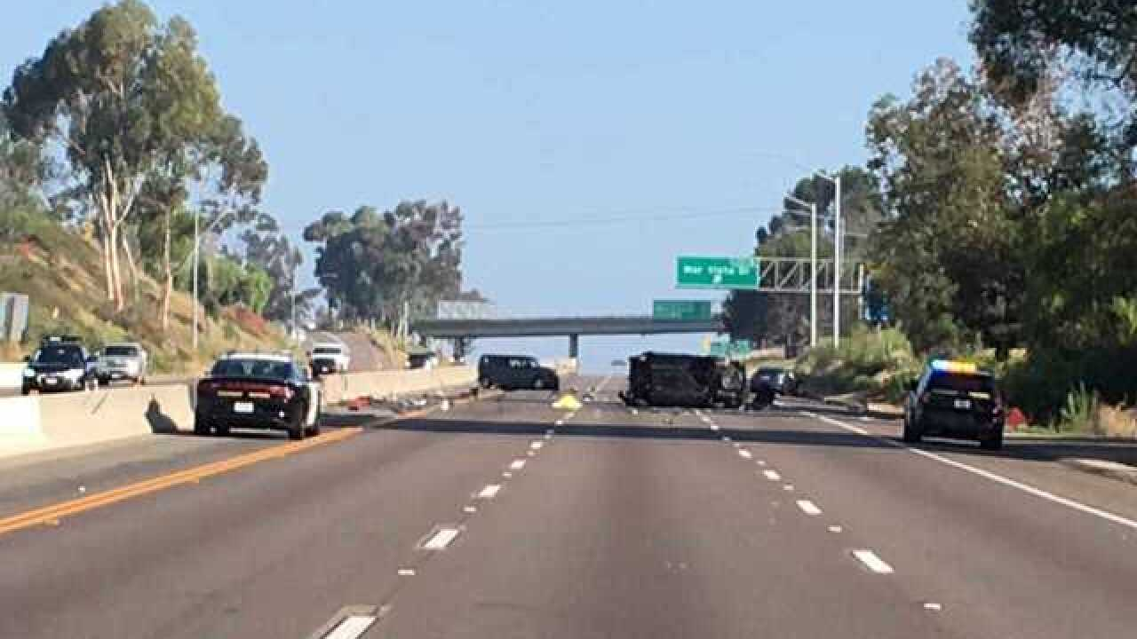 Woman dies in North County crash