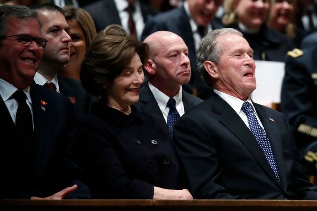 Photo gallery: World leaders gather for George H.W. Bush funeral