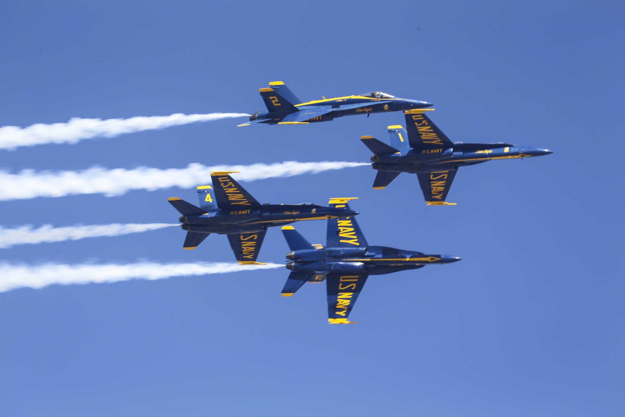 US Navy Blue Angels 2018 MCAS Miramar Air Show