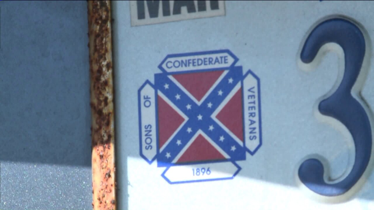 Suffolk man's passion for Confederate flag could get him in trouble withpolice