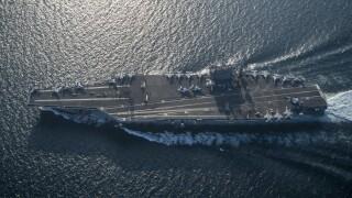 USS Harry S. Truman (CVN 75) transits the Arabian Sea