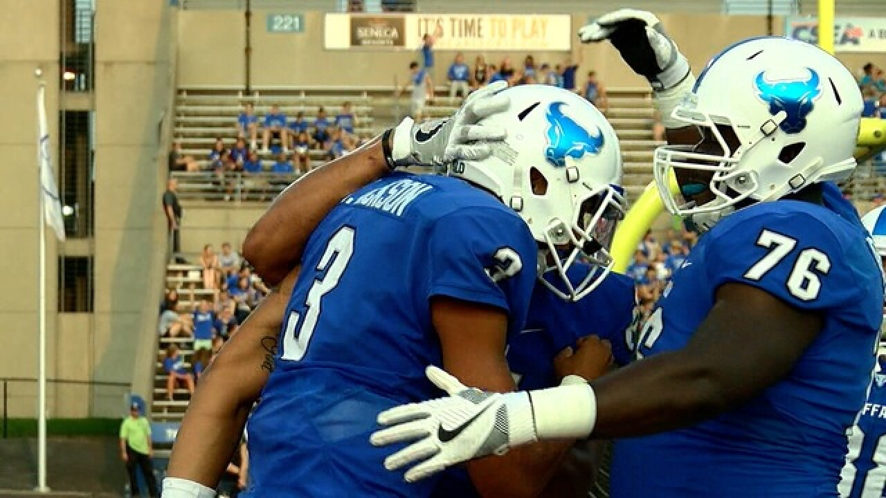 UB releases 2018 football schedule