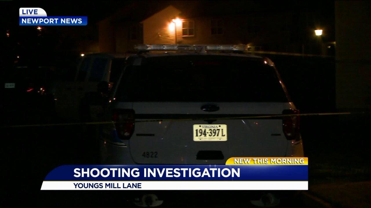 Shooting victim taken to hospital with life-threatening injuries