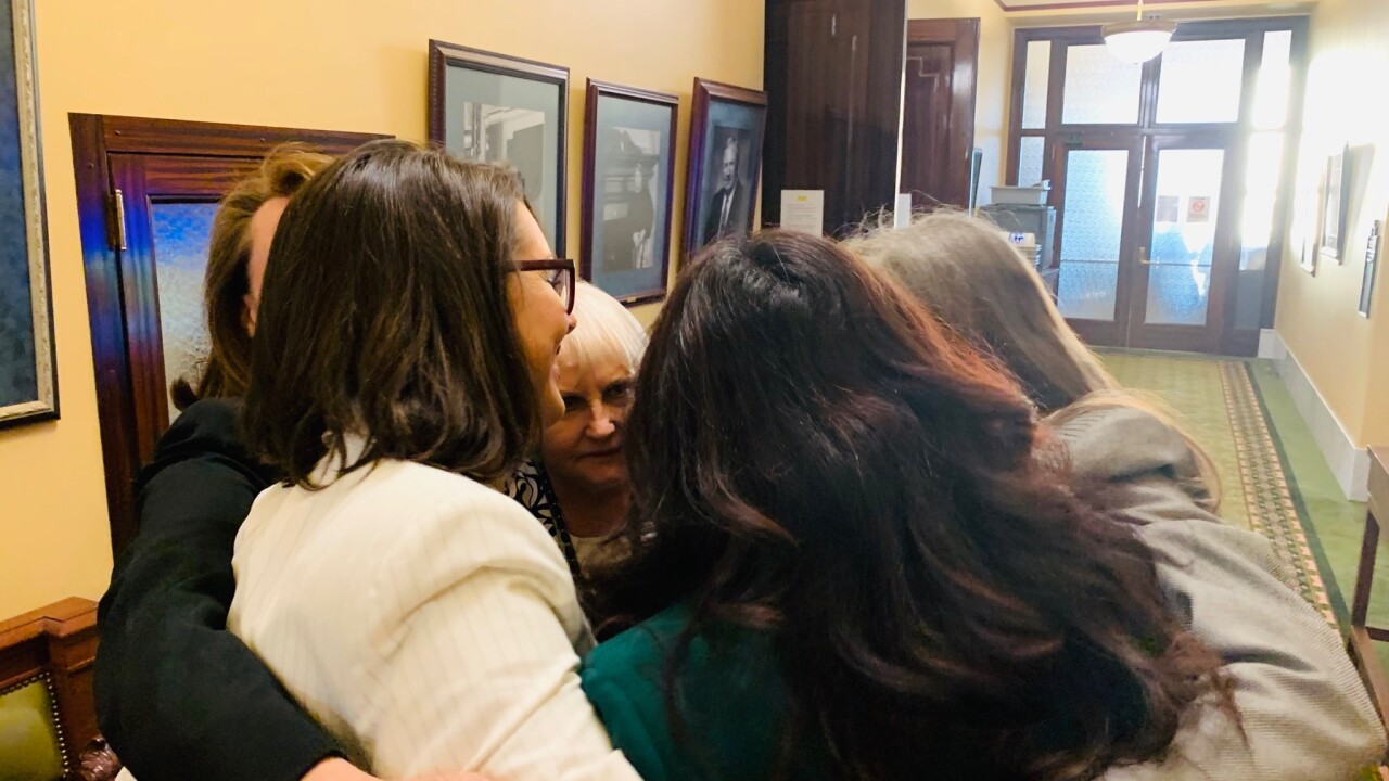 Utah's six women state senators walk off floor in protest of abortion ultrasound bill