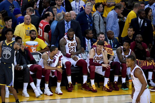 NBA Finals Game 2: Cavs vs. Warriors in photos