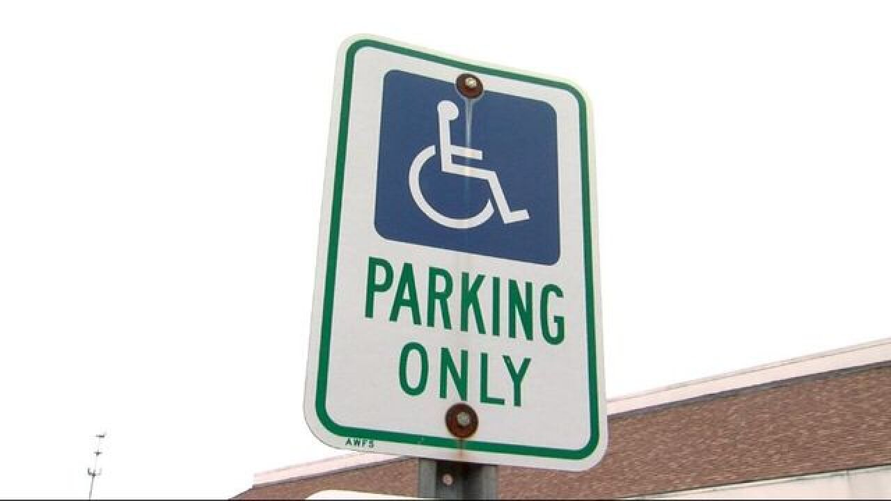 Ohio handicap placard holders by zip code