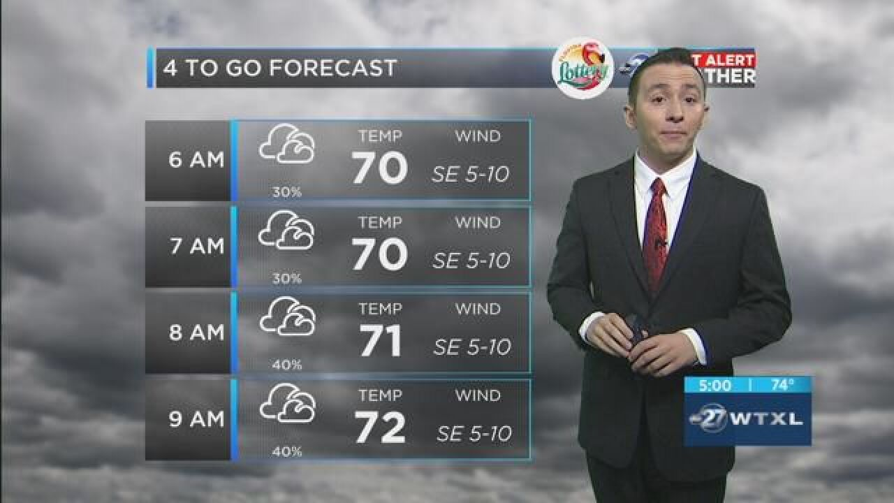 First Alert 4-to-Go Forecast: May 16, 2018