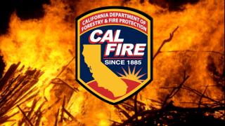 Cal Fire SLO responds to vegetation fire