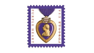 New Purple Heart Forever stamp honors sacrifice of military members