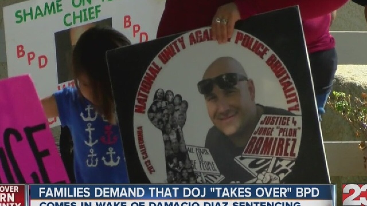 Local families call on DOJ to investigate BPD