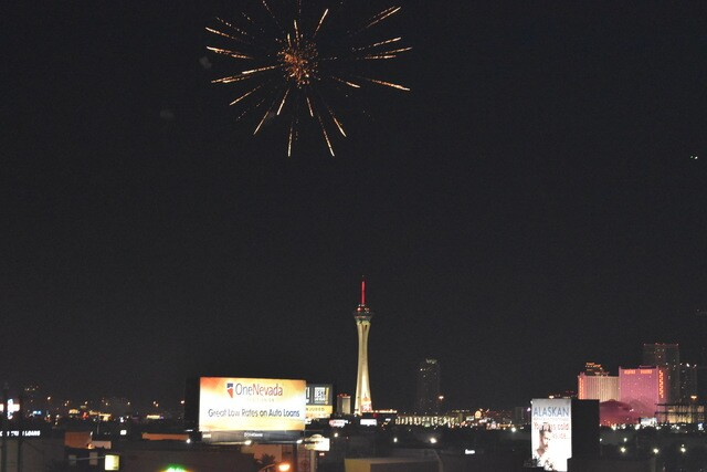 PHOTOS: 2017 Fourth of July fireworks in Las Vegas