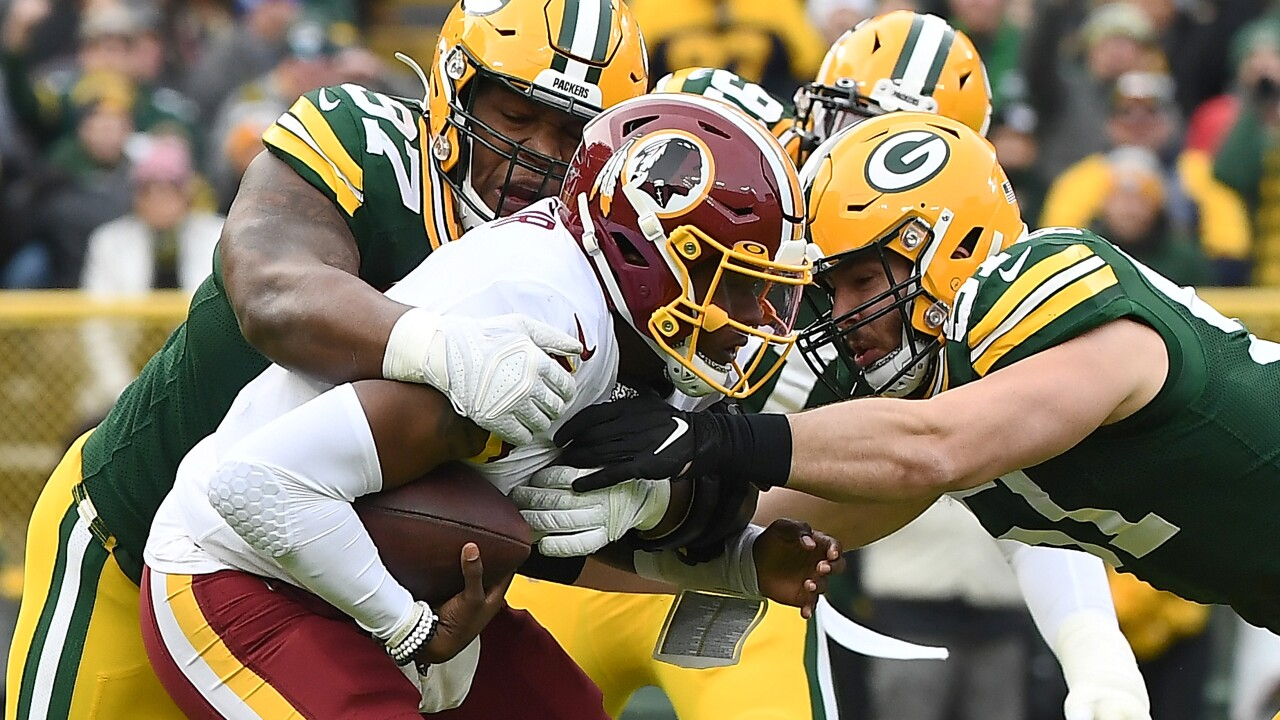Redskins fall to the Packers at Lambeau Field, 20-15