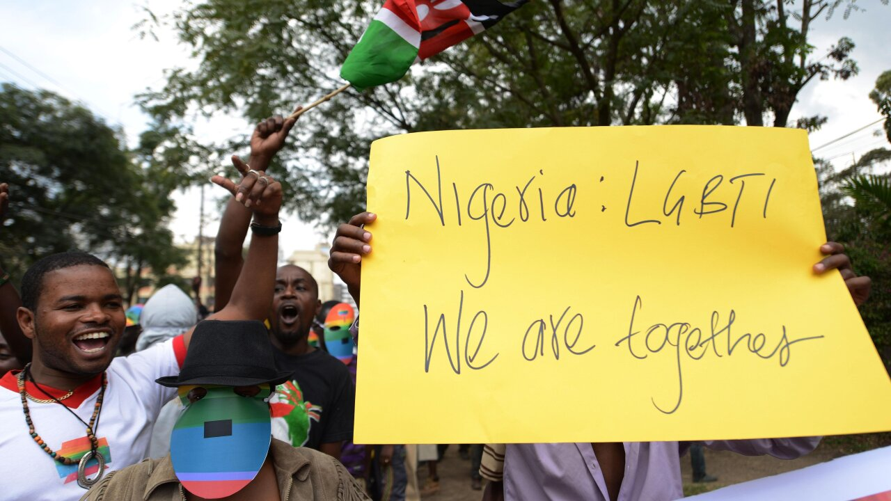 Nigeria is trying 47 men arrested in a hotel under its anti-gay laws