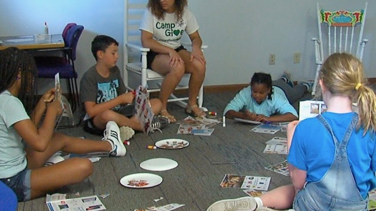 'Game changer' camp teaches kids to give back