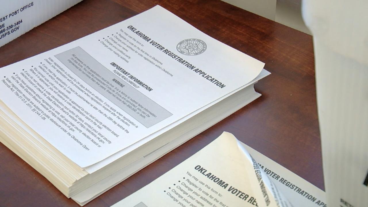oklahoma voter registration