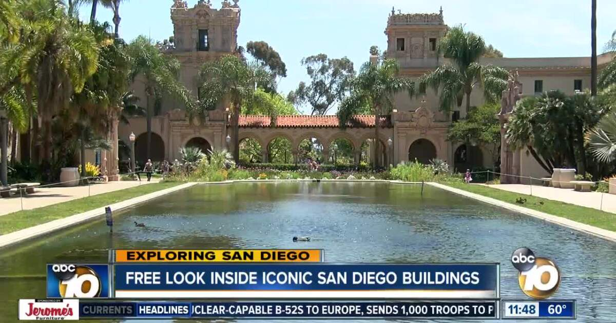 Tour nearly 100 iconic SD sites for free during 'Open House'