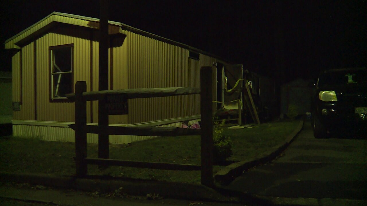 Two in hospital after grease fire in mobile homecommunity