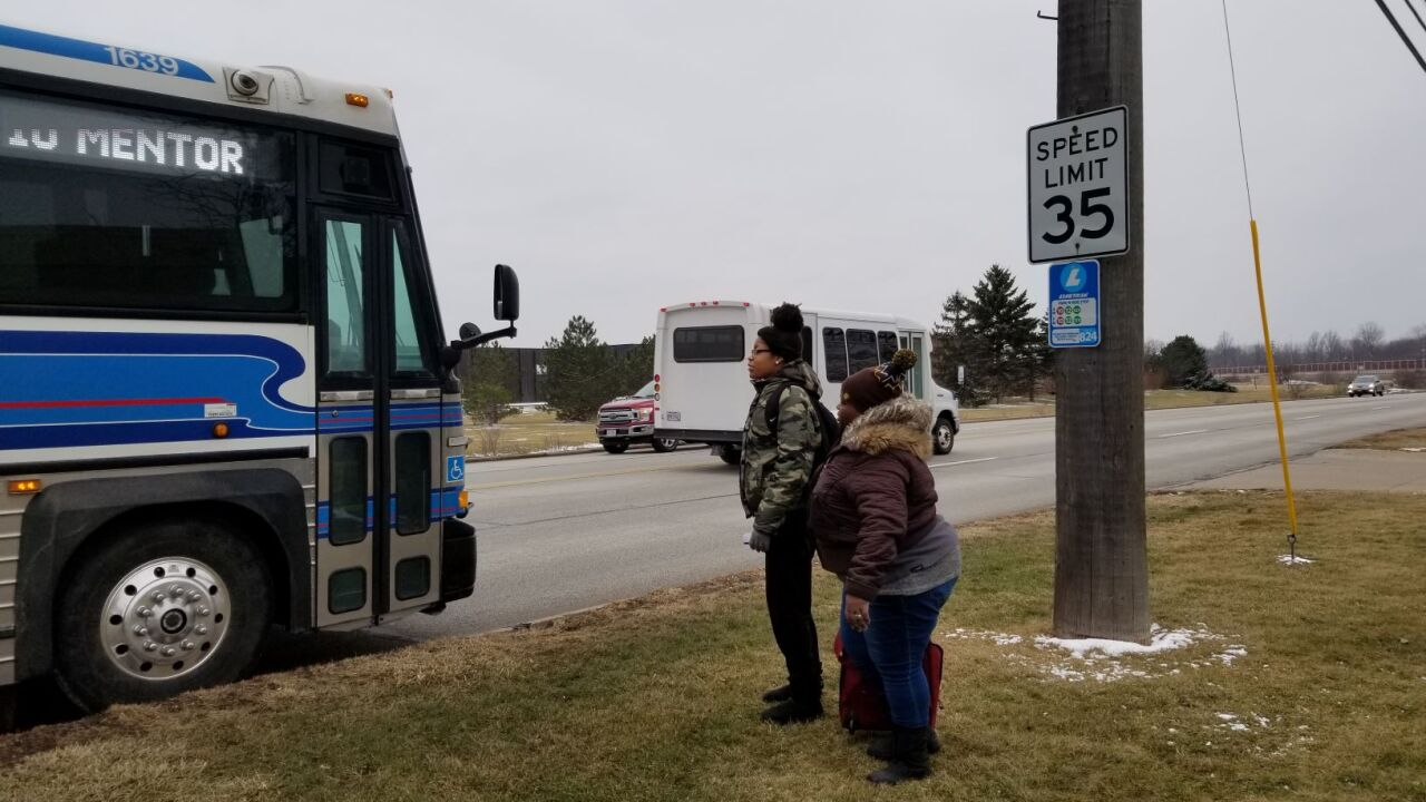 New Transit Service Connects Job Seekers In Cleveland To