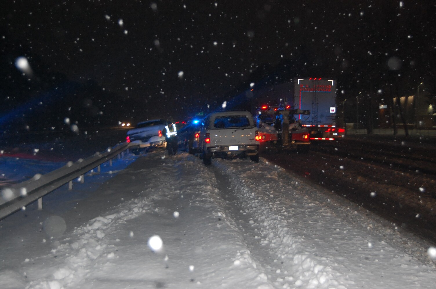 Photos: Trooper injured after driver rear-ends cruiser along I-95 inHanover