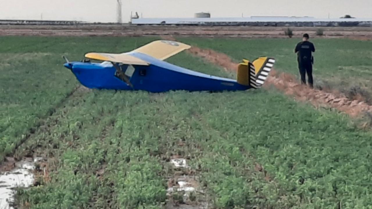 Emergency Landing in Buckeye