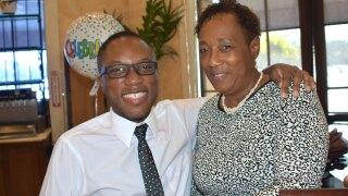 William Andrew Rose and his mother Terri Cunningham Rose