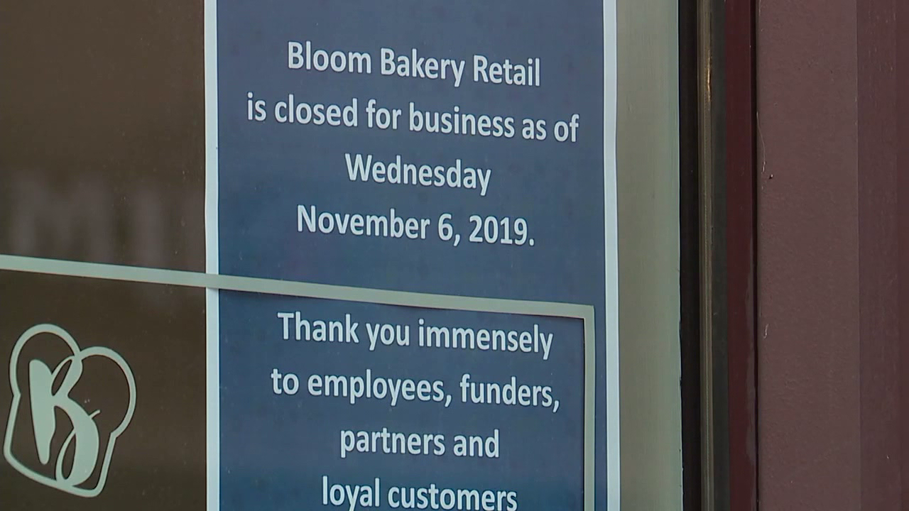 Bloom Baker closed