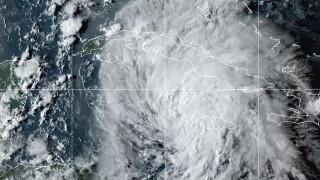 Tropical Storm Hurricane Ida