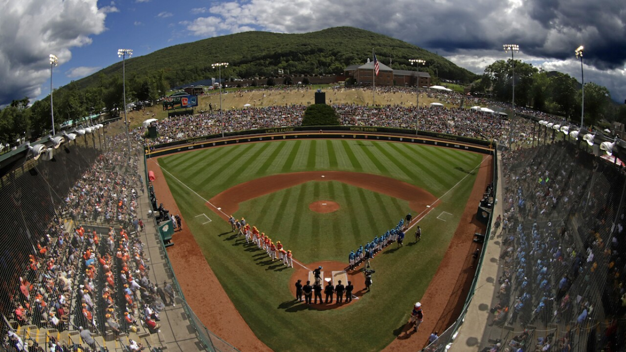 Little League World Series canceled for 1st time