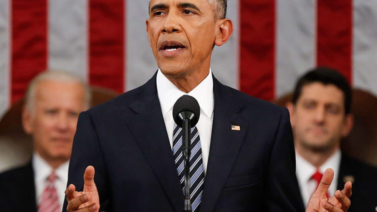 Obama stresses State of Union themes in Nebraska