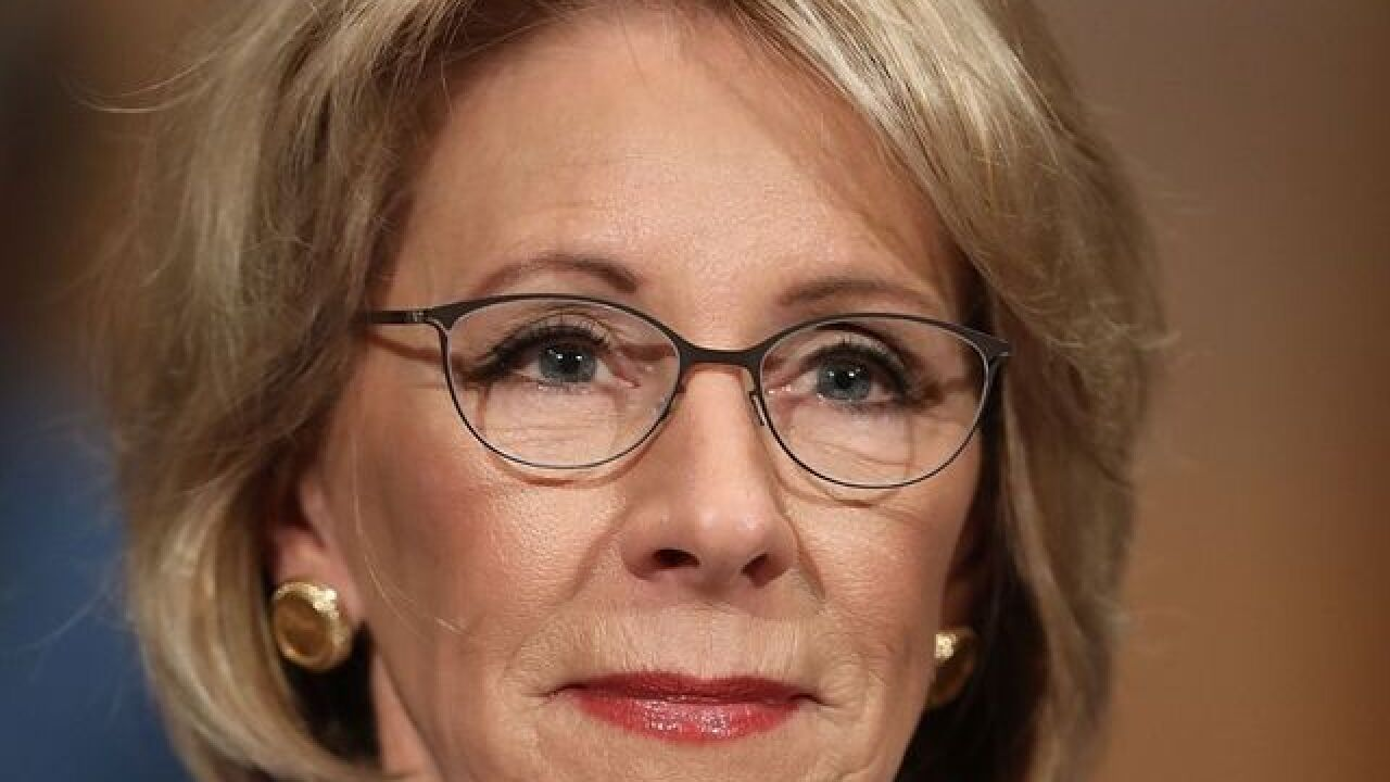 Betsy DeVos confirmed as education secretary; Vice President Pence's tie-breaker vote historic
