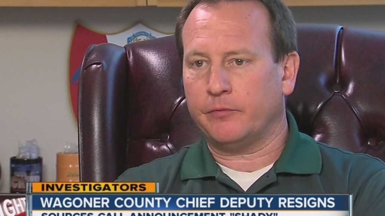 Former TCSO PIO out at Wagoner Sheriff's Office