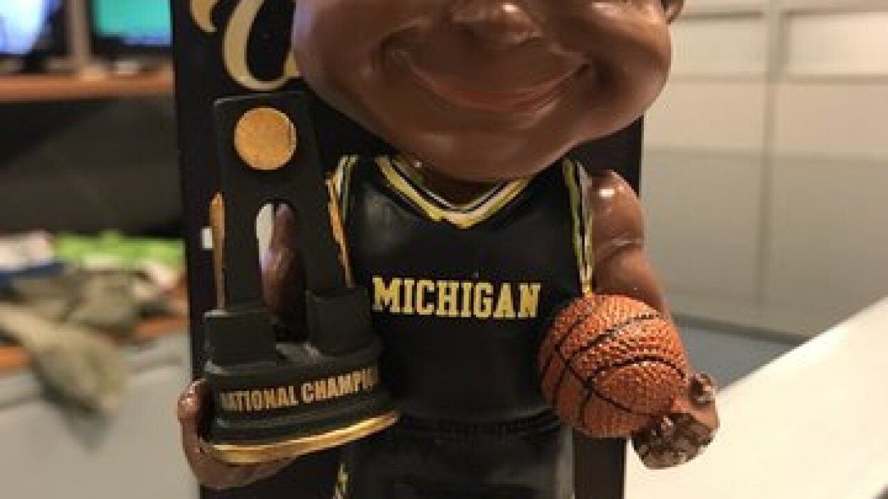 Michigan's 1989 championship joins limited bobblehead collection