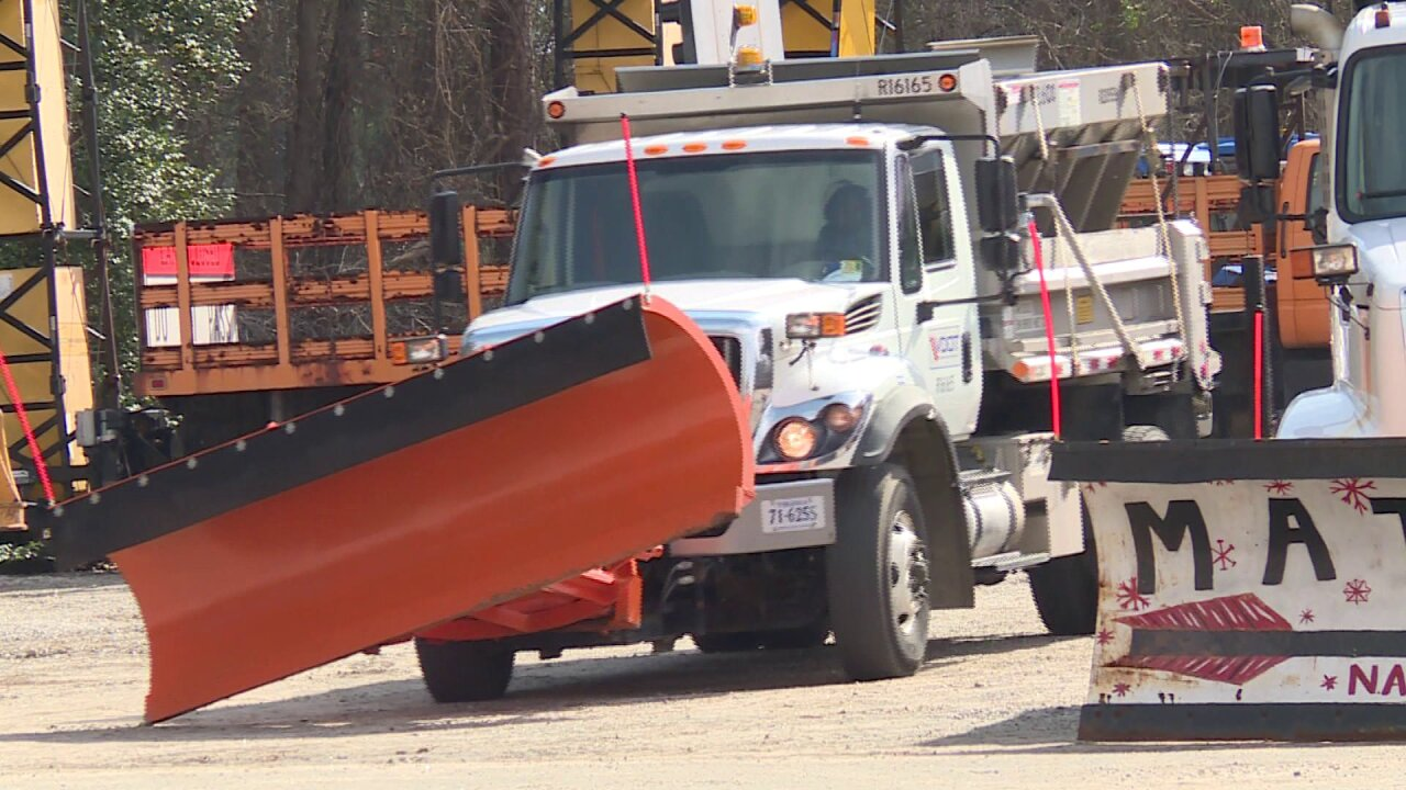 VDOT on standby as wintry mix creeps into Central Virginia