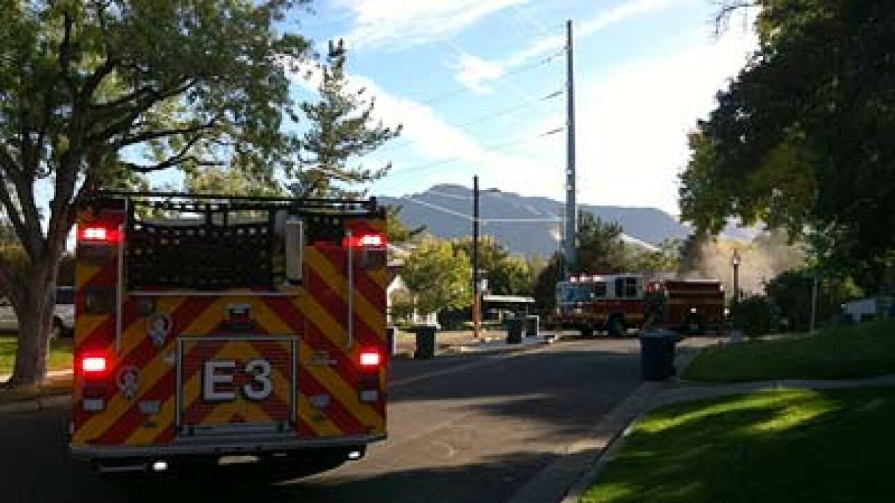 SLC homes briefly evacuated because of gas leak