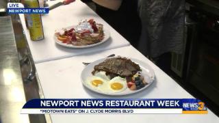 Newport News Restaurant Week features breakfast for the firsttime
