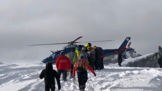 Snowmobiler rescued near Big Sky