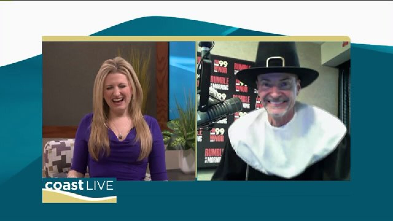 Rick Rumble of FM99 talks turkey and the Mayflower Marathon with CoastLive