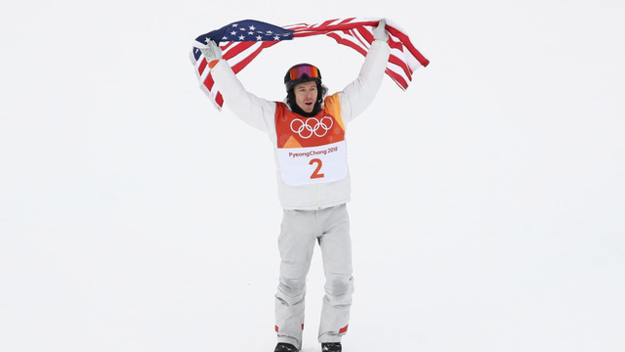 WATCH: Shaun White reacts to fans celebrating his win
