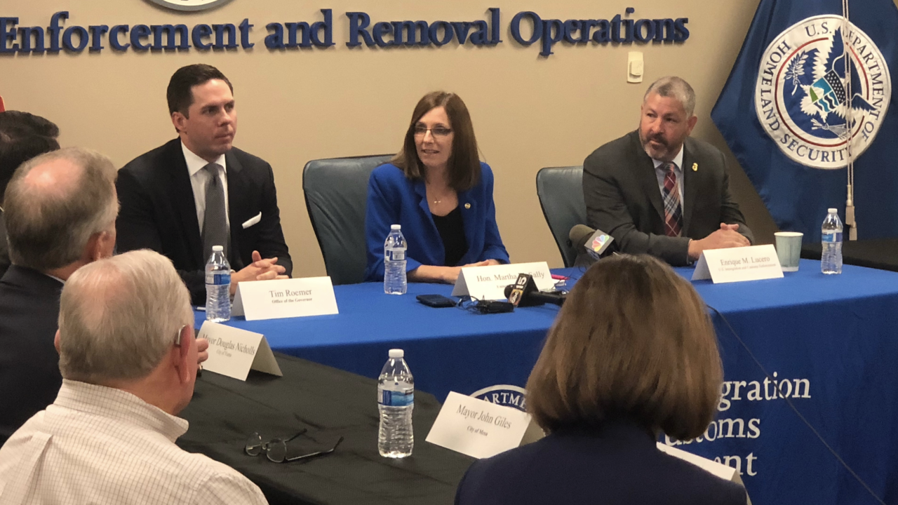 Martha McSally roundtable discussion on migrants