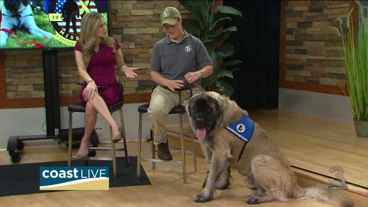 Training service dogs for those who served our nation on Coast Live
