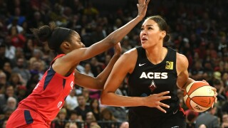 Washington Mystics v Las Vegas Aces - Game Three