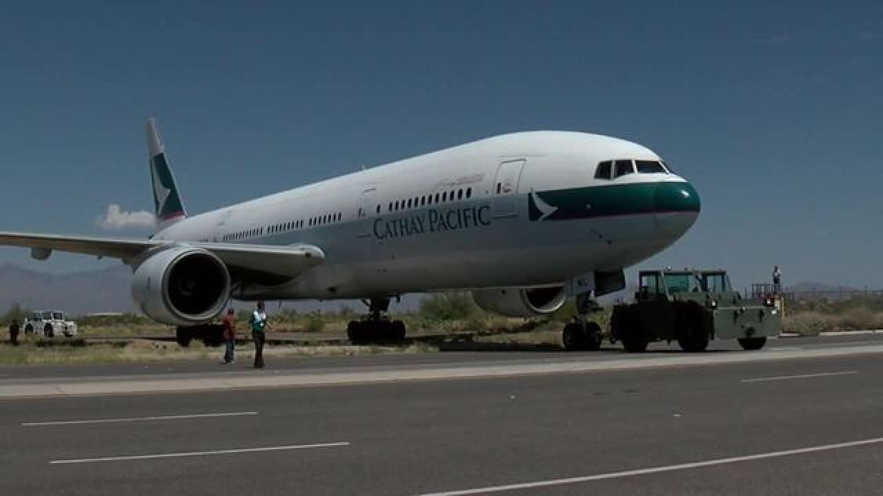 First ever Boeing 777 donated to Tucson Museum