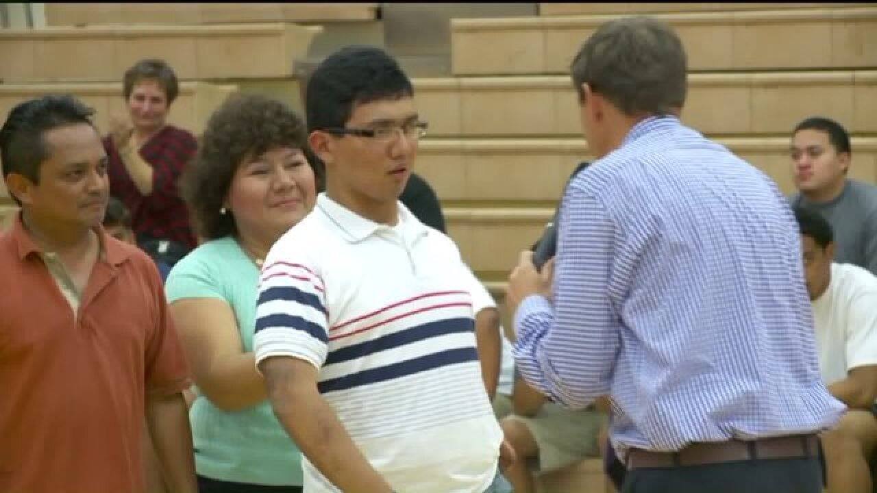Teen awarded 'Most Incredible Kid' by Granite School District 2 years after caraccident