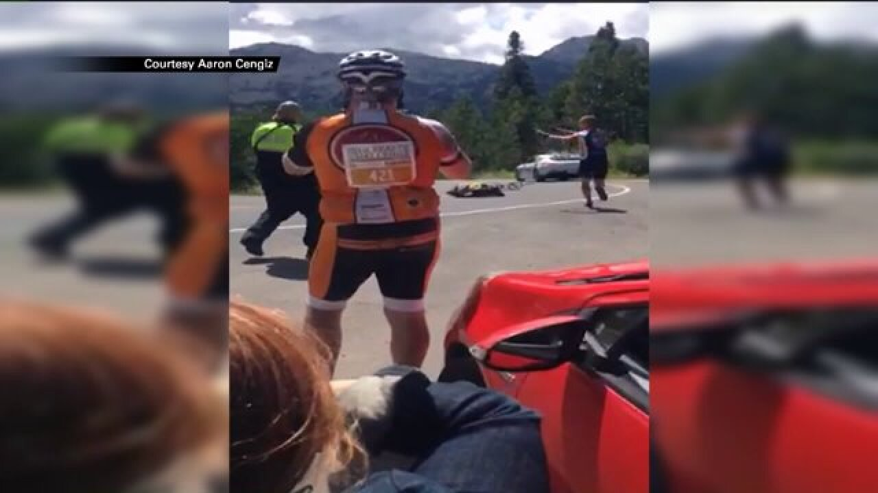 Cyclist suffers severe injuries in high speed crash at Tour ofUtah