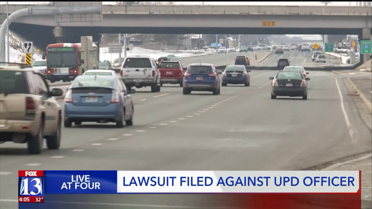 Taylorsville man files lawsuit against UPDofficer